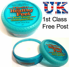 O'Keeffe's Healthy Feet Foot Cream (96g) for Cracked/Split Skin, Non-Greasy UK