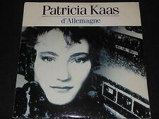 """PATRICIA KAAS   SP 45T 7""""   D'ALLEMAGNE   1988"""