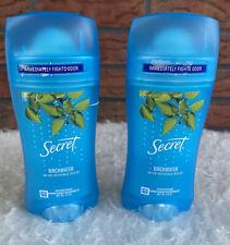 2 Secret Solid Birchwater 48 Hour Invisible Antiperspirant Birch Water Deodorant