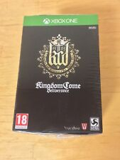 Brand New Sealed Kingdom Come Deliverance Collectors Edition For xBox One