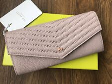 New Ted Baker Womens TONYA Quilted leather envelope matinee purse wallet rrp£89