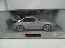 1:18 Ut / Autoart - Porsche 911 Gt 2 Plata - Rareza§