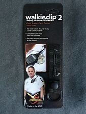 WalkieClip2 Speaker Mic Holder Shirt Clip Attachment Police/Fire/EMT