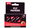 Rentokil Hanging Sticky Fly Killer Paper Strips Traps Pack of 4 Pesticide Free