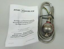 KSR KUEBLER MAGNETIC FLOAT SWITCH ERV 3/8-VU-100/12-V52A-1,0