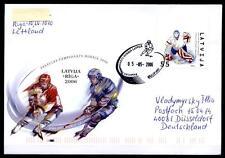 Eishockey. WM-2006, Riga. FDC-Brief. Lettland 2006