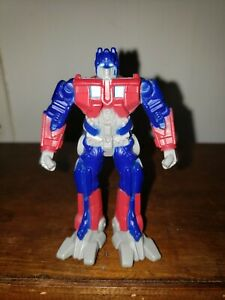 Burger King Happy Meal Toy Optimus Prime Transformers PVC Figure 2009 Hasbro