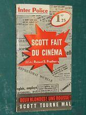 Scott fait du cinéma R. S. PRATHER Presses Internationales