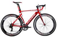 Aluminium Road Bike 700C Commuter Cycling Bicycle Shimano 14 Speed 54cm Mens