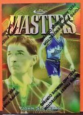 John Stockton card Bronze Refractor 97-98 Finest #33