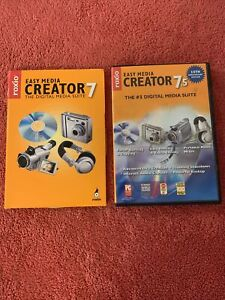 Roxio Easy Media Creator 7 And 7.5 (Program & Media Library) for Windows 2000/XP