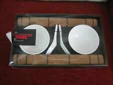 MARKS & SPENCER CHINESE BOWL SET FOR TWO - NEW & BOXED