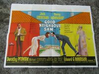 Vintage Movie poster - Original - Good neighbour Sam 101 x 75 cm - 1966