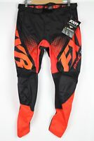 FXR Racing Men's Clutch MX Pant Size 32 Red/Orange/Black Fade