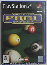 COMPLET jeu INTERNATIONAL POOL CHAMPIONSHIP sur playstation 2 sony PS2 billard