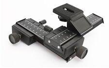 4 way Macro Shot Focusing Rail Slider for Canon Nikon Digital Camera