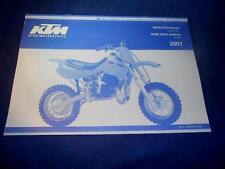 KTM Spare Parts Manual Chassis 01 50 Mini Adventure SX