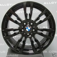 "GENUINE BMW 3 SERIES 19""INCH BLACK 403M SPORT ALLOY WHEELS X4 F30/31/32/33/36"
