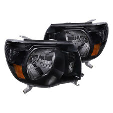 05-11 Toyota Tacoma Black Housing Headlights Housing TRD CE Sport 4X4 OE Upgrade
