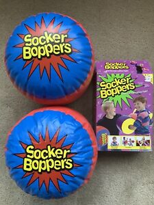 Socker Boppers Inflatable Boxing Pillows One Pair Boppers 2005 Original Box