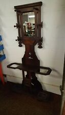 Victorian Eastlake Antique Umbrella Hall Stand Tree S.F. Co Cincinnati Ohio