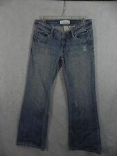 MAURICES sz 1/2 Short HALEY WIDE LEG Denim Jeans 30x29 Distressed Cotton fade Am