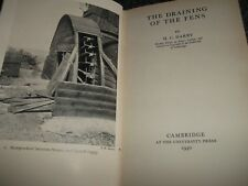 Libro The Drenaggio Of The Fens. H C Darby. 1940 Prima Hb. Gratis UK P&p.