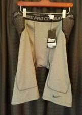 Nike Pro Combat Hip Tail Deflex Padded Compression Football Shorts Men 4Xl Xxxxl