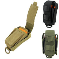 Molle Multi Tool Organizer Pouch Holder with Flap for Plier Knife Flashlight