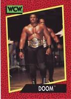 1991 WCW/WWE Impel #139 Doom Ron Simmons Butch Reed near mint