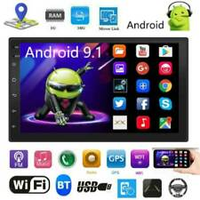 "2DIN 7"" Android 9.1 Car Stereo MP5 Player GPS BT WiFi Speed Display USB FM Radio"