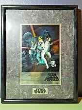 "Star Wars 1994 Chromart: Star Wars Style ""C"" Poster"