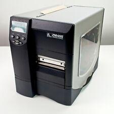 NEW Open Box  ZEBRA ZM400-2001-0100T Industrial Thermal Bar-code Printer