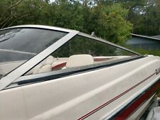 Glastron MX-185 Port Side Windshield, THIS SINGLE PIECE ONLY