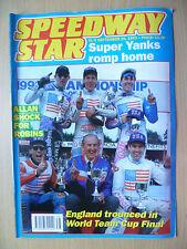 SPEEDWAY STAR, 25 Sept 1993- Super Yanks Romp Home- England:World Team Cup Final