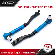 Front High Angle Tension Rods for Nissan 240SX S14/S15 95-02 Infiniti Q45 97-01