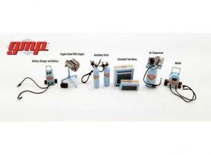 GMP Werkstatt Zubehör Set Shop Tool Set 1 Gulf Oil 1:43 Diorama 14313