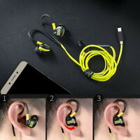 Type-C Stereo In-Ear Bass Earphone Headset  WITH Microphone For Phone