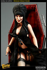 Elvira Mistress Of The Dark Premium Format Statue by Sideshow Collectibles