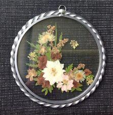 """Glas-Fensterbilder - rund - Motiv """"Blumen """" USA"""