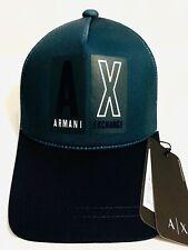 New Armani Exchange AX Mens  LOGO SNAPBACK CAP