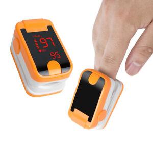 Profi Finger Pulsoximeter SPO2 PR Pulsmessgerät Sauerstoff Blut Oximeter Monitor