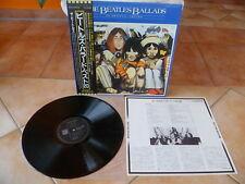 "Beatles""BALLADS-20 Original Tracks""audiophile Japan LP+OBI+Insert-MINT-"