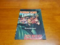 Donkey Kong Country 1 Manual (SNES, Manual Only, ***NO GAME***) Super Nintendo