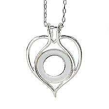 Tiny Link Chain, New With Tags Authentic Kameleon, Kp16, Heart Pendant With