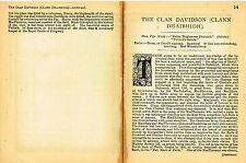 "Johnston's ""Scottish Clans & Tartans"" - ""ROBERTSON"" - Chromo - c1890"