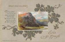 Killarney Ireland Eagles Nest Lucky Clover Greeting Antique Postcard K56665