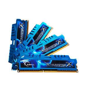32GB 16GB 8GB DDR3 2400MHz G.Skill Ripjaws DIMM Overclock Gaming Memory RAM LOT