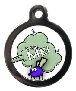 Pet ID fun tag IT WAS ME Picture Tag 2 sizes