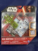 Star Wars Box Buster Battle of Naboo & Battle of Hoth Game G3 New Sealed